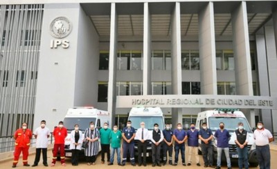 Refuerzan personal para servicio de ambulancias con UTI en Alto Paraná