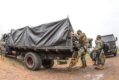 Llegan más soldados y equipos al norte y están motivados para buscar a secuestrados, según vocero de FTC