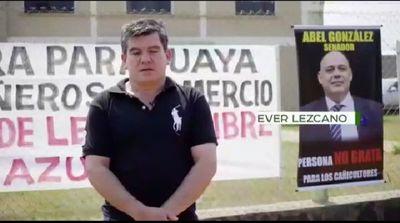 AUDIO: Cañicultores paraguayos declaran persona no grata al senador Chiquito Vale