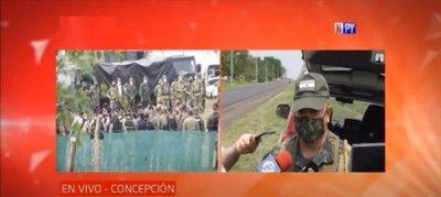 Llegan refuerzo militar y policial en el Norte
