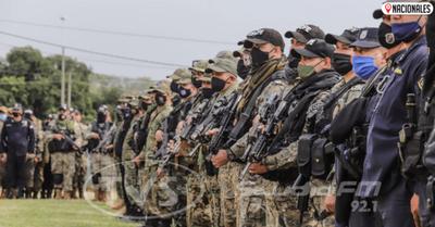 Fuerte despliegue en el norte: llega refuerzo militar y policial