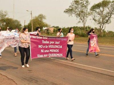 San Ignacio: Marchan en apoyo a una mujer víctima de violencia durante 11 años