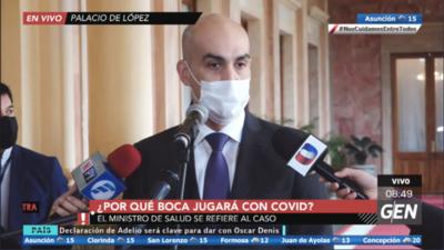 HOY / ¿Por qué Boca jugará con Covid-19? El ministro de Salud se refiere al caso