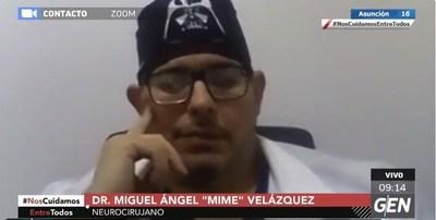 """Dr. Mime Velázquez: """"Por qué no se aplica con los jugadores de Boca el protocolo burbuja si este es un vuelo burbuja"""""""