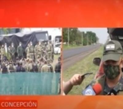 Refuerzan presencia militar y policial en el Norte