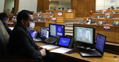 La Nación / Bicameral de Presupuesto 2021 recibe a autoridades de siete ministerios