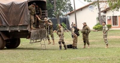 La Nación / Gran despliegue y refuerzo militar y policial en el Norte