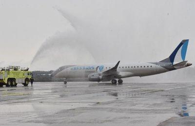 Aterriza en Paraguay el primer vuelo burbuja proveniente de Uruguay