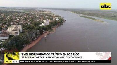 Bajante pronunciada de río impide navegación de grandes embarcaciones