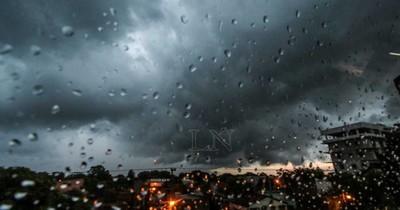 La Nación / Alertan que lluvias, tormentas y granizos se aproximan al país