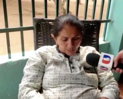 Doña Obdulia Florenciano se crucificará en repudio al poco interés sobre el caso de Edelio