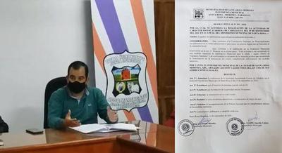 INCREÍBLE: INTENDENTE DE SANTA ROSA MISIONES AUTORIZA CARRERA DE CABALLOS.