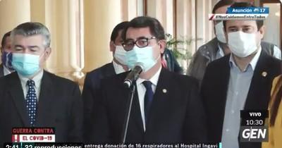 La Nación / Reunión con Mario Abdo fue positiva, dice diputado del PLRA