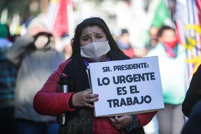 Paro en Uruguay contra un presupuesto que «no atiende demandas populares»