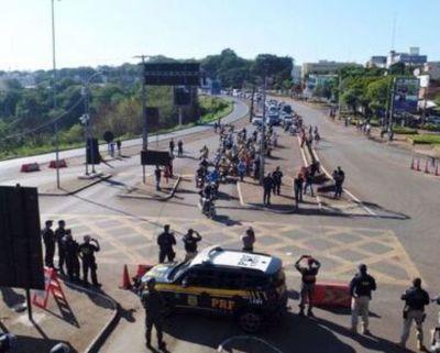 Reapertura gradual de puente de la Amistad debe ser coordinada entre Paraguay y Brasil, subrayan