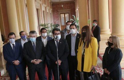 Permanencia de la FTC en el norte fue el pedido de parlamentarios del PLRA a Marito