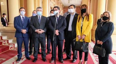 Parlamentarios liberales conversaron con Mario Abdo sobre situación en el norte