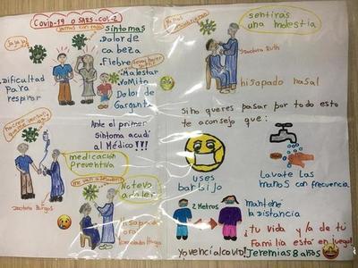 Niño de ocho años cuenta su experiencia con el COVID-19 y deja un mensaje a todos – Prensa 5