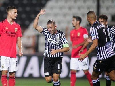 PAOK da la nota y elimina al Benfica de la Champions