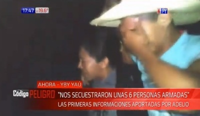 Adelio Mendoza cuenta cómo fueron sus días de secuestro