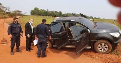 La Nación / Fiscal investiga cargamento de marihuana incautado de una camioneta en Canindeyú