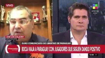 Crónica / Chila le trozó a la Conmebol por ser ñembotavy con Boca