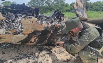 Fuerza Aérea venezolana derribó una narcoavioneta estadounidense