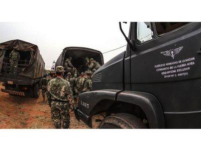 Refuerzan el Norte del país con casi 800 policías y militares