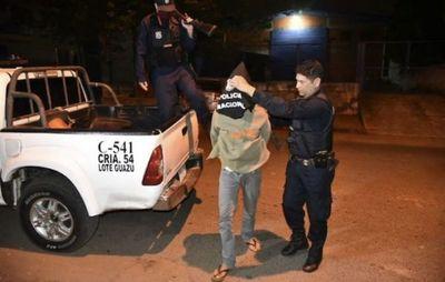Seis fugados de comisaría en Lote Guazú y un par de ellos ya recapturados