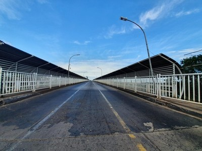 INCERTIDUMBRE son APERTURA del Puente de la Amistad
