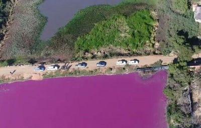 Multa de 10.000 jornales mínimos para comisión vecinal por construir camino sobre Laguna Cerro