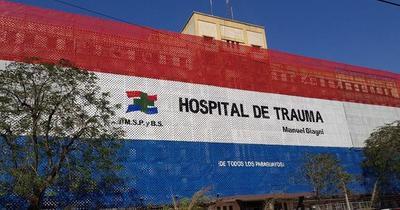 Gremios del Hospital de Trauma denuncian recorte de G. 22.000 millones en PGN