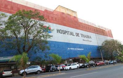 Funcionarios de blanco denuncian recortes en PGN para el Hospital de Trauma