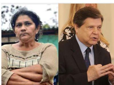 Caldeada discusión de ministro del interior con mamá de Edelio Morinigo causa feroz escándalo