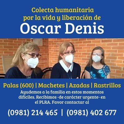 Organizan colecta de herramientas para la familia de Oscar Denis