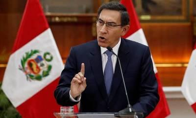 Se debilita posibilidad de remover al presidente peruano en juicio político