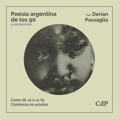 Taller de encuentros sobre poesía argentina de los 90 en octubre