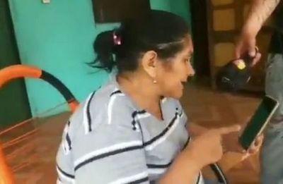 Áspera discusión entre madre de policía secuestrado y Euclides Acevedo