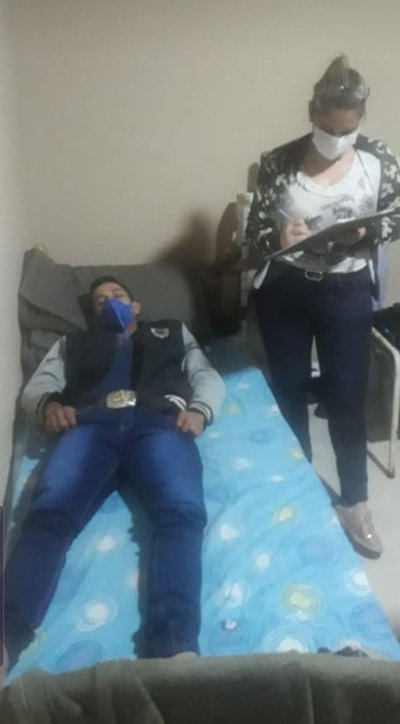 Adelio Mendoza recibió el alta médica