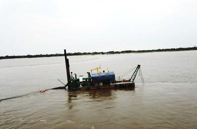 Histórica bajante de ríos Paraná y Paraguay obliga a dragado de cauces para mantener navegabilidad