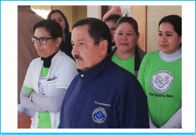San Ignacio; se jubiló el Dr. Luis Giménez Fix