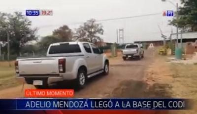 Adelio Mendoza ingresa al CODI por seguridad