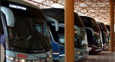 Dinatrán extiende la suspensión de viajes los fines de semana