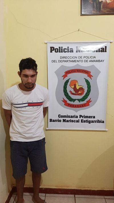 Otro evadido del penal de Pedro Juan fue recapturado
