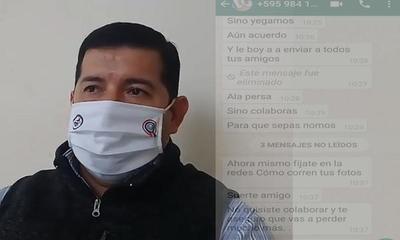 Denuncian extorción por parte de personas desconocidas – Prensa 5