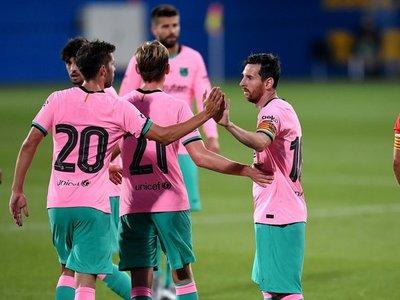Messi se estrena con un doblete en pretemporada