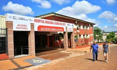 30 años de servicio del Hospital Regional de CDE