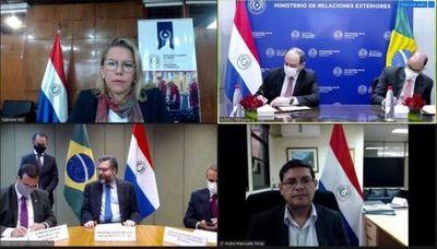 Paraguay y Brasil suscriben acuerdo para compras en la frontera