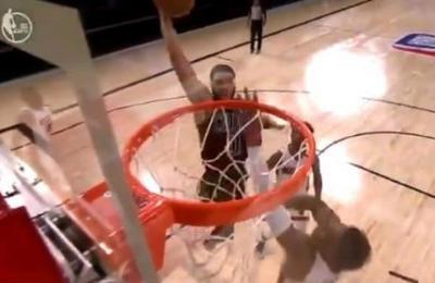 'La mejor tapa del año': la tremenda acción defensiva en un partido de la NBA que es viral en Twitter