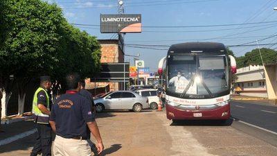 Suspensión de buses se extiende hasta este fin de semana